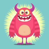 Leuke Cartoon Troll karakter illustratie vector