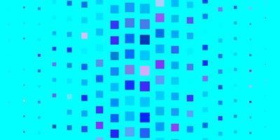 lichtroze, blauwe vectortextuur in rechthoekige stijl. vector