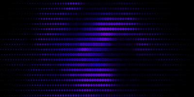 donkerpaarse vectorlay-out met cirkelvormen.