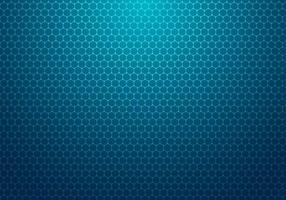 abstracte blauwe zeshoek met de technische achtergrond van het puntpatroon