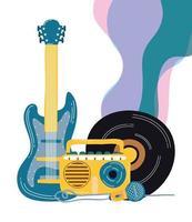 elektrische gitaar en muziekinstrumenten