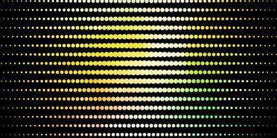 donker veelkleurig vectorpatroon met bollen.