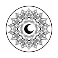 mandala ramadan kareem decoratie pictogram