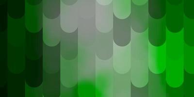 lichtgroene vector achtergrond met lijnen.