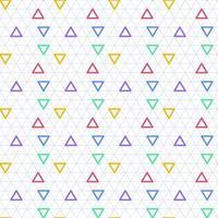 driehoek naadloze achtergrond vector