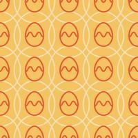 paasei naadloze patroon vector