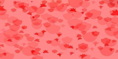 vector patroon met cirkels, sterren