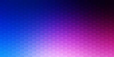 lichtroze, blauwe vectorachtergrond in veelhoekige stijl.