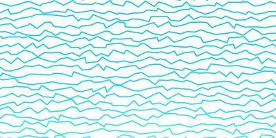 donkerblauwe vectortextuur met wrange lijnen.