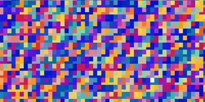licht veelkleurige vector sjabloon in rechthoeken.