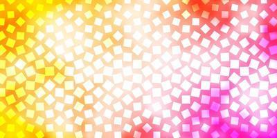 lichtoranje vector achtergrond met rechthoeken.
