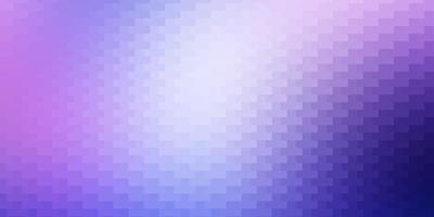 lichtroze, blauwe vectorachtergrond met rechthoeken.