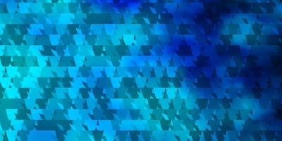 lichtblauwe vectortextuur met driehoekige stijl.