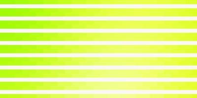 lichtgroen, geel vectorpatroon met lijnen.