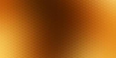 donkeroranje vectorpatroon in vierkante stijl.