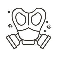 bioveiligheid masker lijn stijlicoon