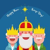 Kings Day vectorillustratie vector