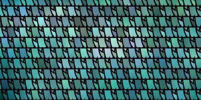 lichtblauwe, groene vectortextuur met driehoekige stijl.