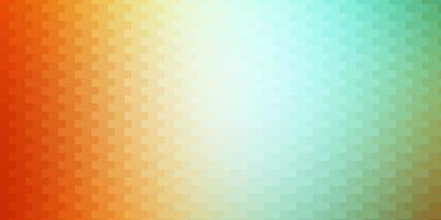 lichtgroene, gele vectorachtergrond met rechthoeken.
