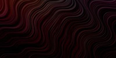 donkere veelkleurige vector achtergrond met lijnen.