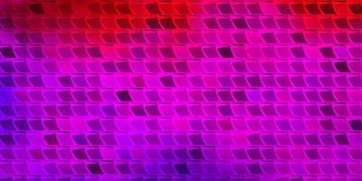 lichtroze, rode vectorachtergrond met rechthoeken.