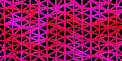 donkerroze vector driehoek mozaïek patroon.