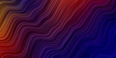 donkerblauwe, rode vectortextuur met cirkelboog. vector
