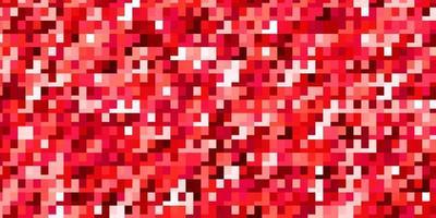lichtrode vector achtergrond met rechthoeken.