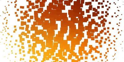 lichtoranje vectortextuur in rechthoekige stijl.