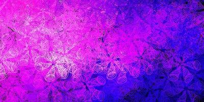 donkerpaars, roze vectorachtergrond met stippen.