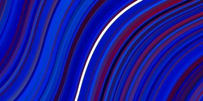 lichtblauwe, rode vectortextuur met cirkelboog.