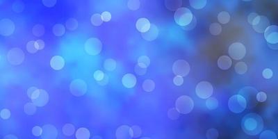 lichtblauwe vectorachtergrond met vlekken. vector