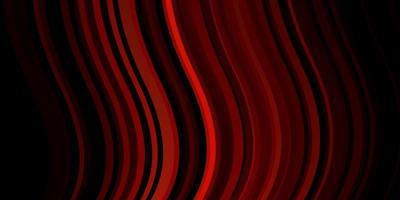 donkerroze, rode vectortextuur met wrange lijnen.