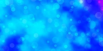 lichtroze, blauwe vectortextuur met schijven. vector