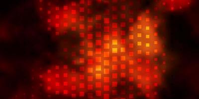 donkergeel vector sjabloon in rechthoeken.