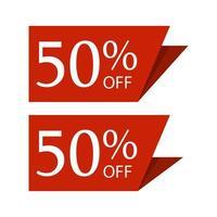 speciale verkoop korting sticker vector ontwerp illustratie op een witte achtergrond