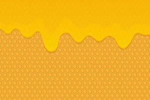 honing achtergrond vector ontwerp illustratie