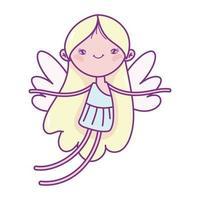 gelukkige Valentijnsdag, cupido met vleugels stripfiguur