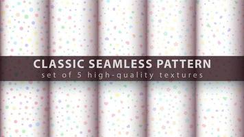 schattige delicate naadloze patroon achtergrond instellen