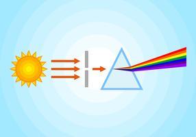 uitstekende prismavectoren vector