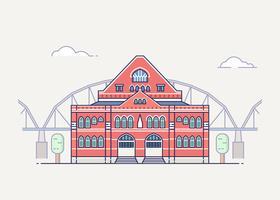 Nashville landmark illustratie vector