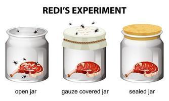 redi's experimentdiagram voor onderwijs