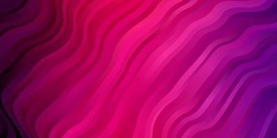lichtpaarse, roze vectorlay-out met cirkelboog.
