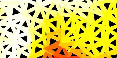 lichtgroene, rode vector driehoek mozaïek achtergrond.