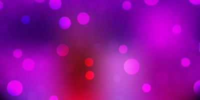 licht veelkleurige vector achtergrond met willekeurige vormen.