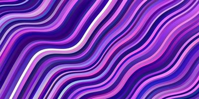lichtroze vector achtergrond met lijnen.