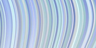 lichtroze, blauwe vectorachtergrond met wrange lijnen.