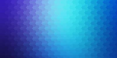 lichtroze, blauwe vectorlay-out met lijnen.