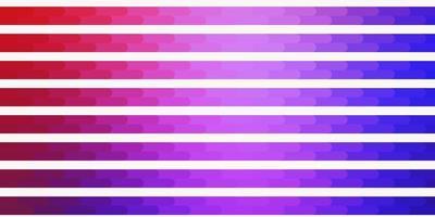lichtblauw, rood vector sjabloon met lijnen.