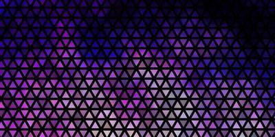lichtpaars vectorpatroon met veelhoekige stijl. vector